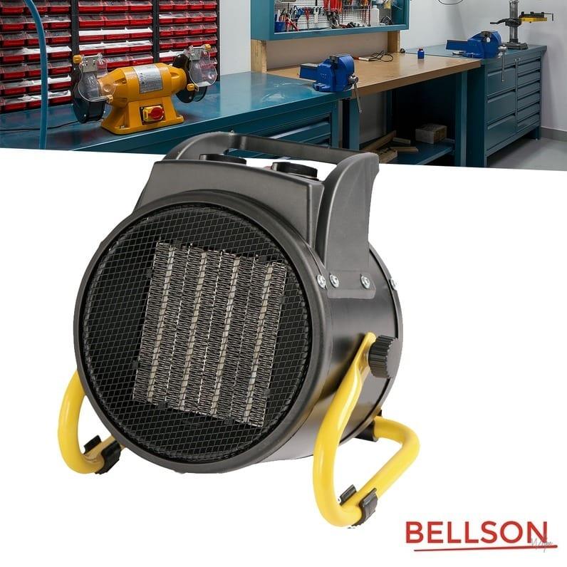 Dagaanbieding - Bellson Werkplaatskachel 2000W dagelijkse koopjes